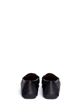 Back View - Click To Enlarge - Coach - 'Arlene' turnlock grainy leather loafers