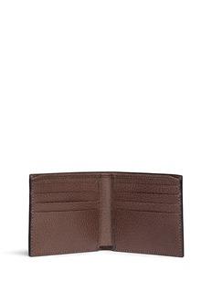 Gucci Stripe chevron print canvas bifold wallet
