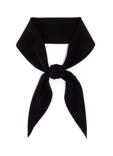 ChloéSilk crepe de Chine scarf