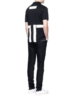 Givenchy Contrast band polo shirt