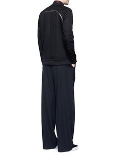 GivenchyZip neoprene sweatshirt