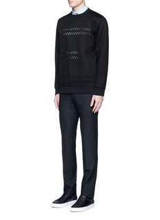 Givenchy Cross perforated sweatshirt