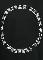'American Dream' embroidery sweatshirt