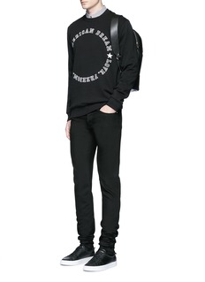 Givenchy 'American Dream' embroidery sweatshirt