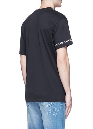 Back View - Click To Enlarge - Givenchy - Columbian fit lily print T-shirt