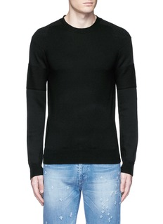 Givenchy Star intarsia Merino wool sweater