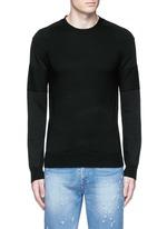 Star intarsia Merino wool sweater