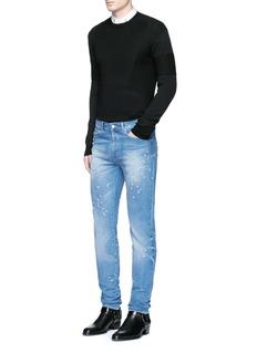GivenchyStar intarsia Merino wool sweater