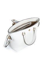 'Rosaria' mini grainy leather zip tote