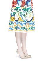'Bellucci' jewel brooch Taormina lace pumps
