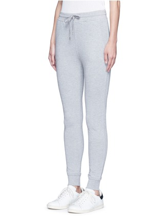 Front View - Click To Enlarge - T By Alexander Wang - Enzyme wash sweatpants