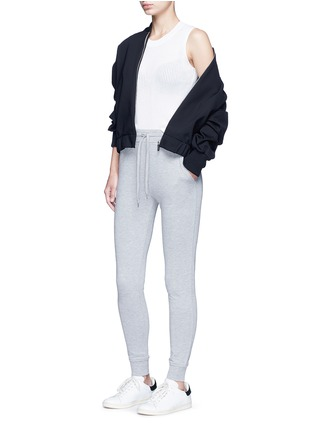 Figure View - Click To Enlarge - T By Alexander Wang - Enzyme wash sweatpants