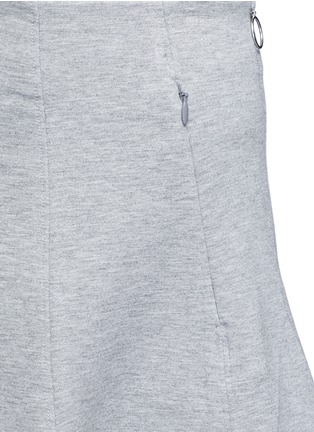 Detail View - Click To Enlarge - T By Alexander Wang - Double knit jersey circle skirt