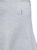 Double knit jersey circle skirt