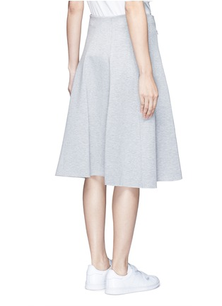 Back View - Click To Enlarge - T By Alexander Wang - Double knit jersey circle skirt