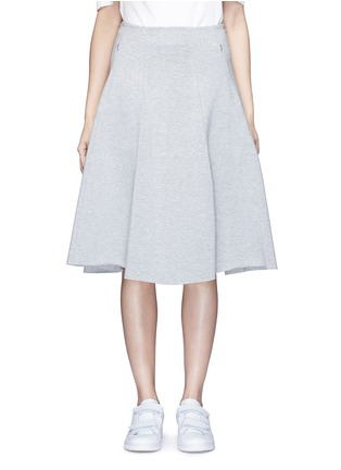 Main View - Click To Enlarge - T By Alexander Wang - Double knit jersey circle skirt