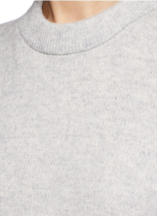 Detail View - Click To Enlarge - T By Alexander Wang - Wool-cashmere long dickie sweater vest