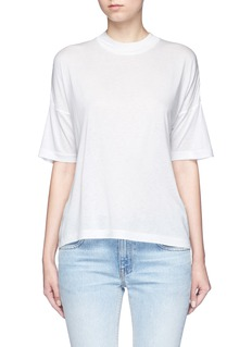 T By Alexander WangDropped shoulder jersey T-shirt