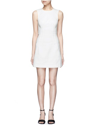 T By Alexander Wang - Cotton twill shift dress