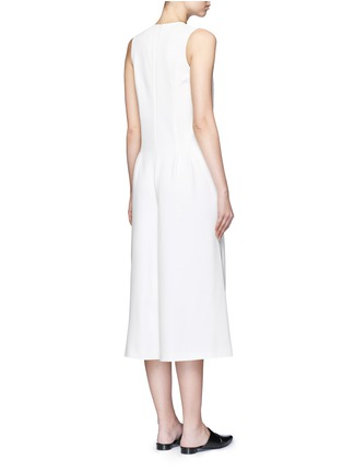 Back View - Click To Enlarge - T By Alexander Wang - V-neck culottes jumpsuit