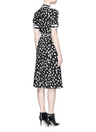 Altuzarra-'Ella' flocked polka dot belted shirt dress
