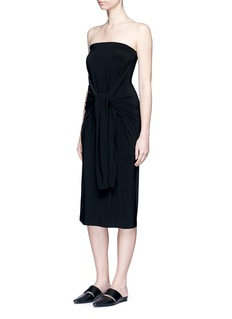 Norma Kamali All In One' convertible jersey dress