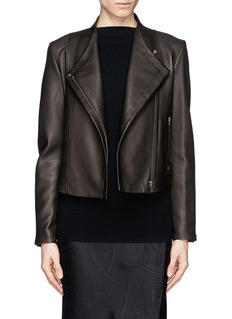 THEORY 'Phelan' leather biker jacket