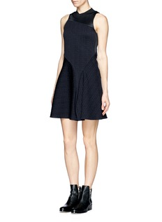 3.1 PHILLIP LIM Asymmetric pleat embroidery dress