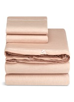Nude king size duvet set