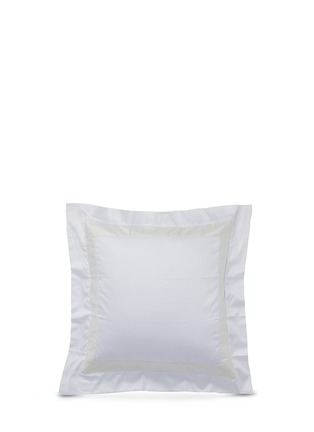 Main View - Click To Enlarge - Frette - Bicolore Euro size sham