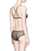 'Intime' mesh panel briefs