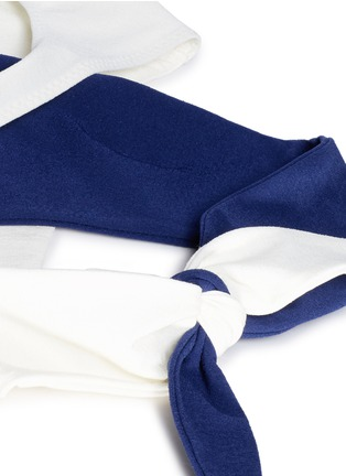 Detail View - Click To Enlarge - Lisa Marie Fernandez - 'Marie-Louise' crisscross wrap bikini set