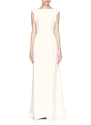 Main View - Click To Enlarge - Victoria Beckham - Drape open back crepe gown
