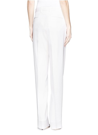 Back View - Click To Enlarge - Victoria Beckham - Virgin wool barathea pants