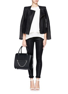ALEXANDER WANG  Chastity large leather satchel