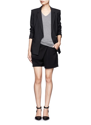 Figure View - Click To Enlarge - T By Alexander Wang - Classic pocket T-shirt