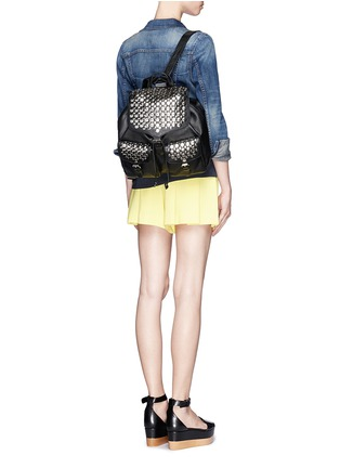 Figure View - Click To Enlarge - Rebecca Minkoff - Selena stud inlay leather backpack