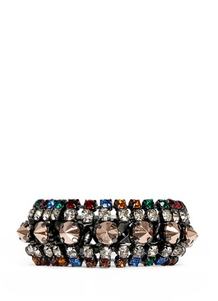 Main View - Click To Enlarge - IOSSELLIANI - Gunmetal chain bracelet
