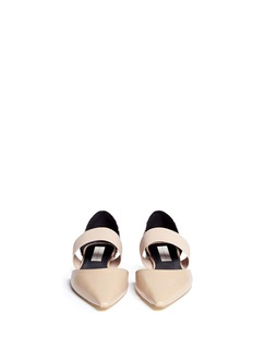 STELLA MCCARTNEY Elasticated band d'Orsay flats