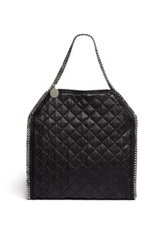 STELLA MCCARTNEY 'Falabella' large quilted chain tote