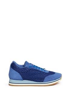 STELLA MCCARTNEYEco suede mesh sneakers