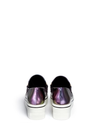 Back View - Click To Enlarge - Stella McCartney - 'Binx' platform loafers