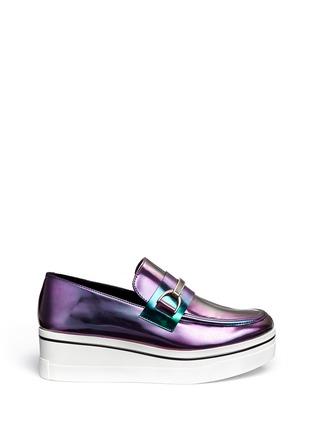 Main View - Click To Enlarge - Stella McCartney - 'Binx' platform loafers