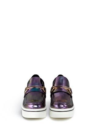 Figure View - Click To Enlarge - Stella McCartney - 'Binx' platform loafers