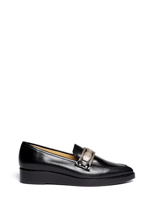 TOGA ARCHIVES - Hardware leather loafers