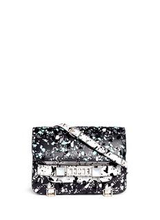 PROENZA SCHOULER'PS11' velvet flock classic shoulder bag