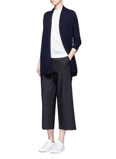 Theory'Ashtry J' open front cashmere cardigan