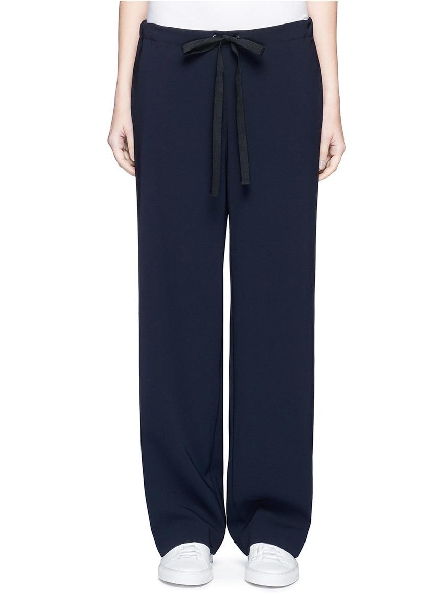 Winszlee crepe pyjama pants by Theory