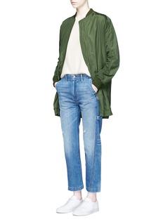 VinceOversized parka bomber jacket