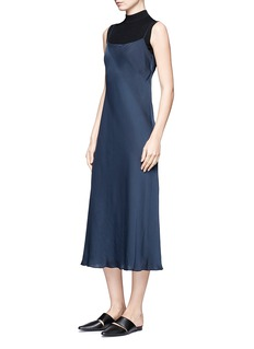VinceSatin slip dress